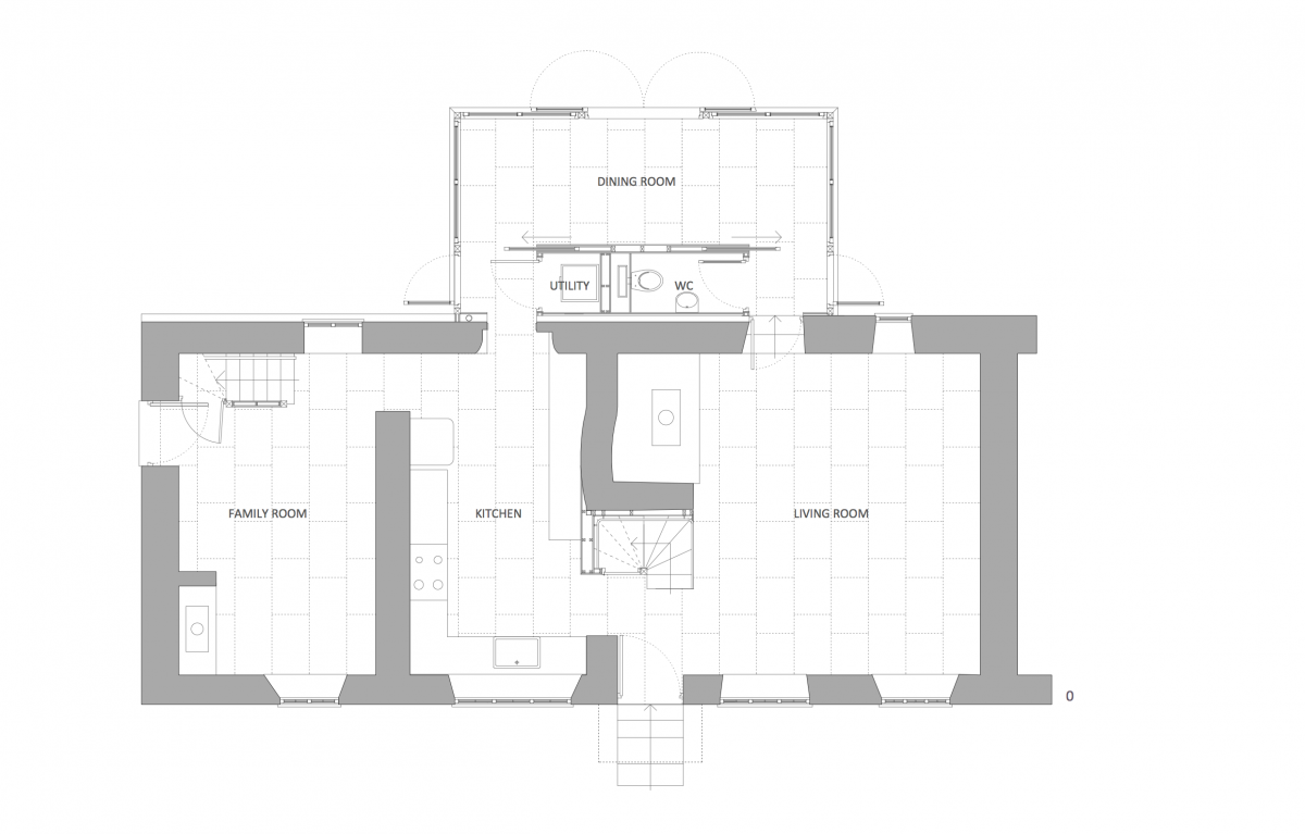 Thatched Roof Cottages Floor Plans