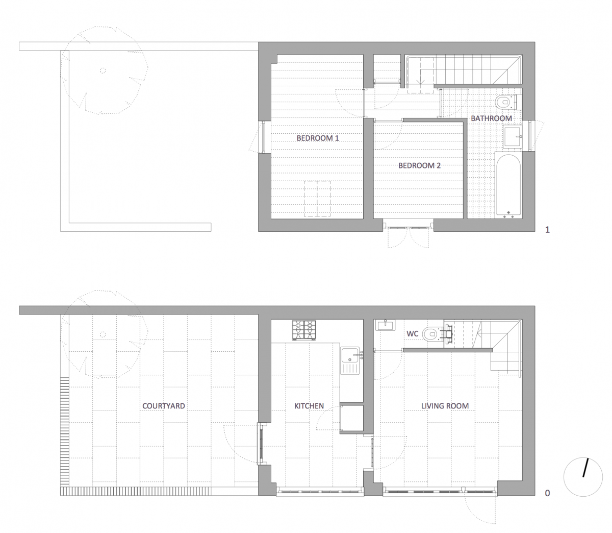 The coach house chard somerset forest architecture for Coach house floor plans